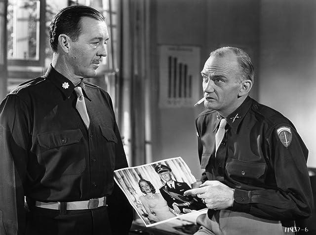 Marlene Dietrich, Millard Mitchell, and Peter von Zerneck in A Foreign Affair (1948)