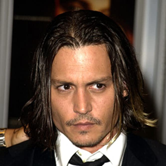 Johnny Depp at an event for From Hell (2001)