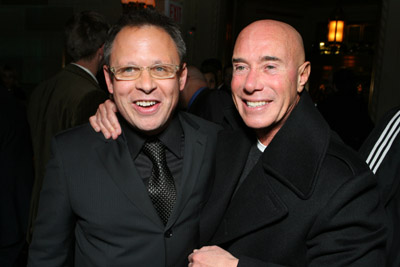 Bill Condon and David Geffen at Dreamgirls (2006)