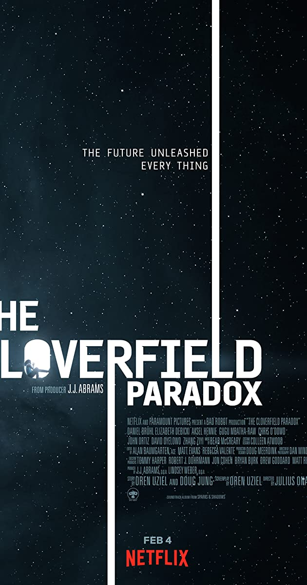 Kloverfyldo stotis / The Cloverfield Paradox (2018)