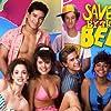 Mark-Paul Gosselaar, Tiffani Thiessen, Dustin Diamond, Mario Lopez, and Lark Voorhies in Saved by the Bell (1989)