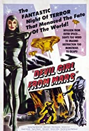 Devil Girl from Mars (1954) Poster - Movie Forum, Cast, Reviews