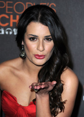 Lea Michele at an event for The 36th Annual People's Choice Awards (2010)