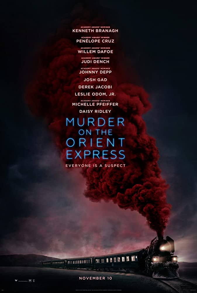 Murder on the Orient Express film poster