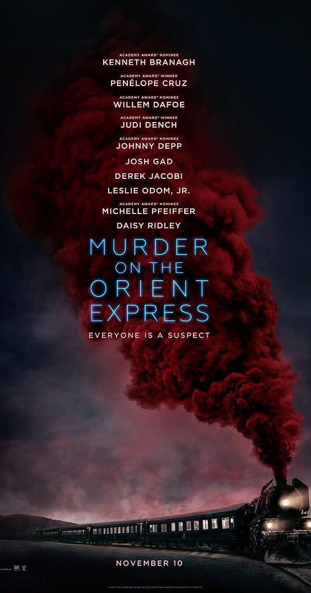 Žmogžudystė Rytų eksprese / Murder on the Orient Express (2017) Online
