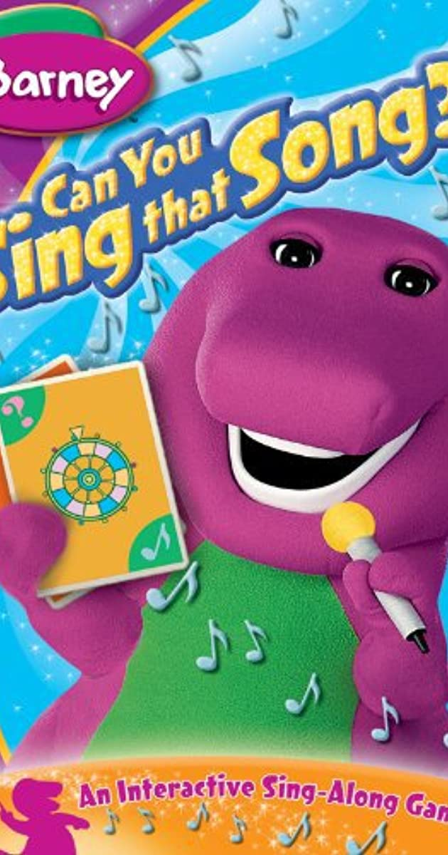 barney can you sing that song video 2005 imdb. Black Bedroom Furniture Sets. Home Design Ideas
