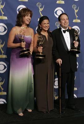 Celia D. Costas, Mark Gordon, and Chrisann Verges at The 57th Annual Primetime Emmy Awards (2005)