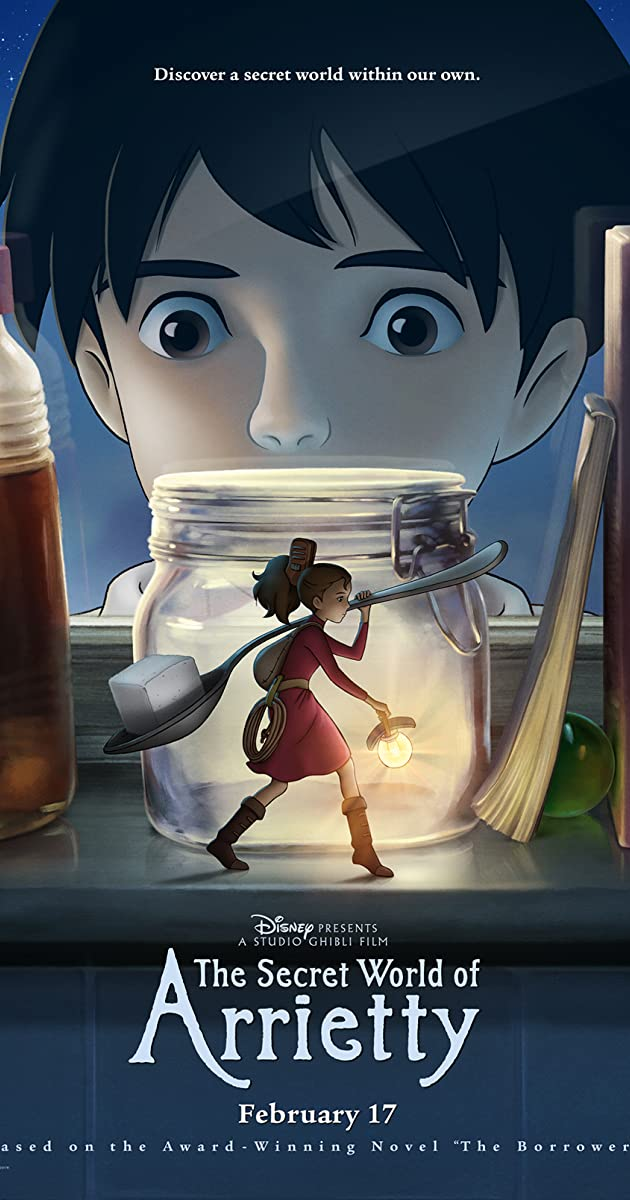 Aerati iš nykštukų šalies / The Secret World of Arrietty / Kari-gurashi no Arietti (2010) Online