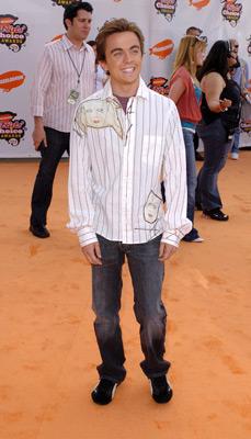 Frankie Muniz at Nickelodeon Kids' Choice Awards '05 (2005)
