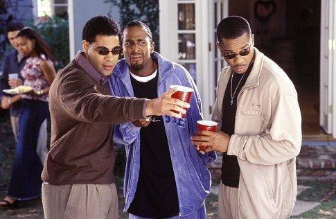 Mel Jackson (left), Dartanyan Edmonds (center) and Duane Martin (right)