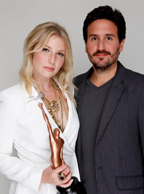 Ari Graynor and Peter Sollett
