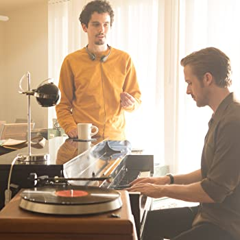 Ryan Gosling and Damien Chazelle in La La Land (2016)