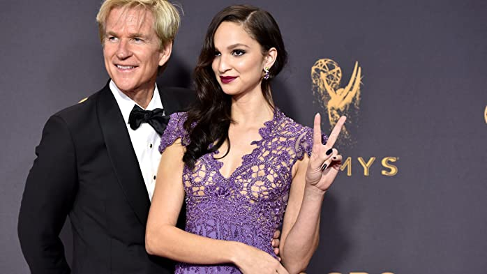 Matthew Modine and Ruby Modine at an event for The 69th Primetime Emmy Awards (2017)