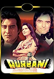 Qurbani (1980) Poster - Movie Forum, Cast, Reviews