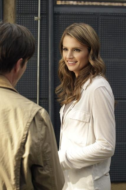 Tim Guinee and Stana Katic in Castle (2009)