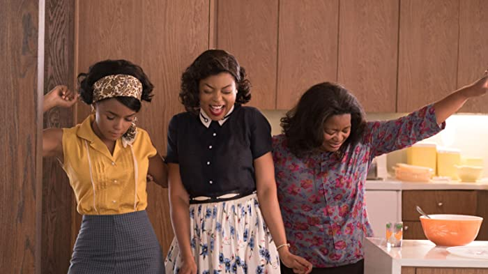 Taraji P. Henson, Octavia Spencer, and Janelle Monáe in Hidden Figures (2016)