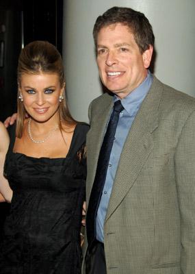 Carmen Electra and David Zucker at Scary Movie 4 (2006)