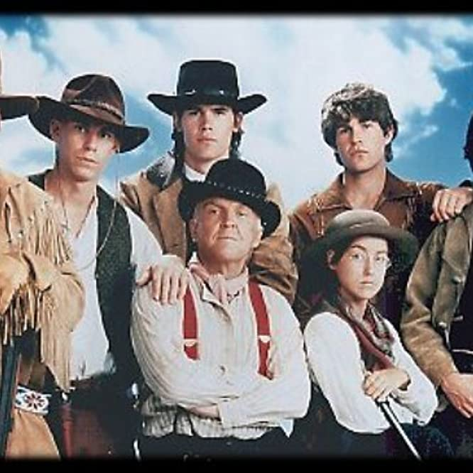 Stephen Baldwin, Josh Brolin, Anthony Zerbe, Travis Fine, Ty Miller, Gregg Rainwater, and Yvonne Suhor in The Young Riders (1989)