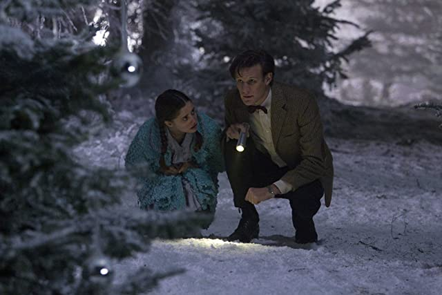 Holly Earl and Matt Smith in Doctor Who (2005)