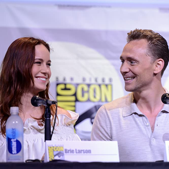 Brie Larson and Tom Hiddleston at an event for Kong: Skull Island (2017)