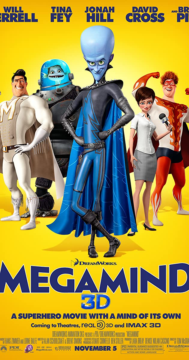 Megamind / Characters - TV Tropes