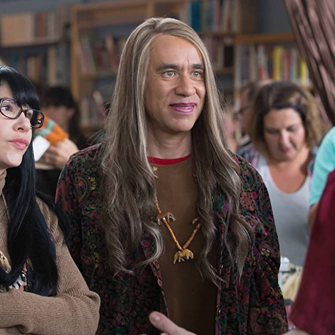 Fred Armisen, Kevin Corrigan, and Carrie Brownstein in Portlandia (2011)