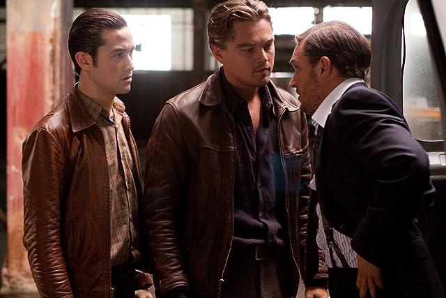 Leonardo DiCaprio, Joseph Gordon-Levitt, and Tom Hardy in Inception (2010)