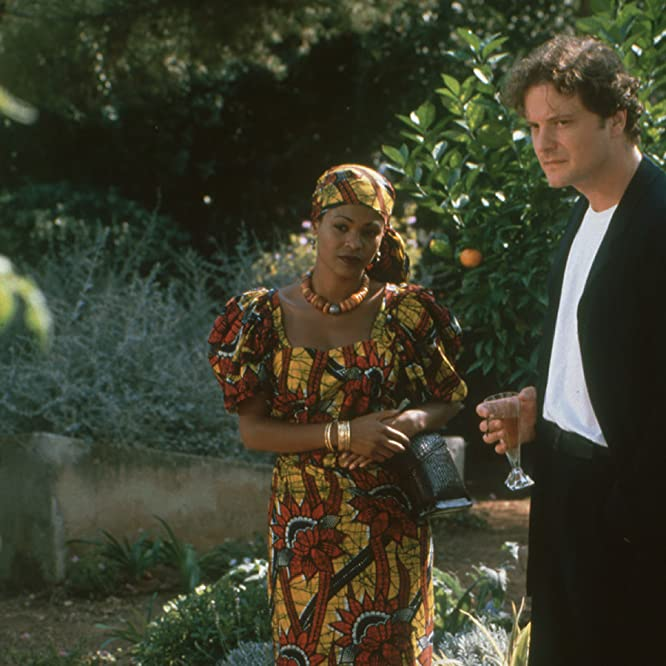 Colin Firth and Nia Long in The Secret Laughter of Women (1999)