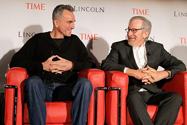 Steven Spielberg and Daniel Day-Lewis at an event for Lincoln (2012)