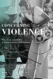 Om våld Poster