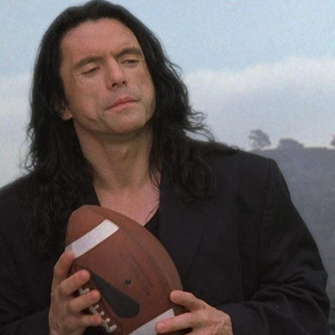 Tommy Wiseau in The Room (2003)
