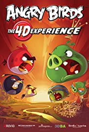 Angry Birds 4D Experience Poster