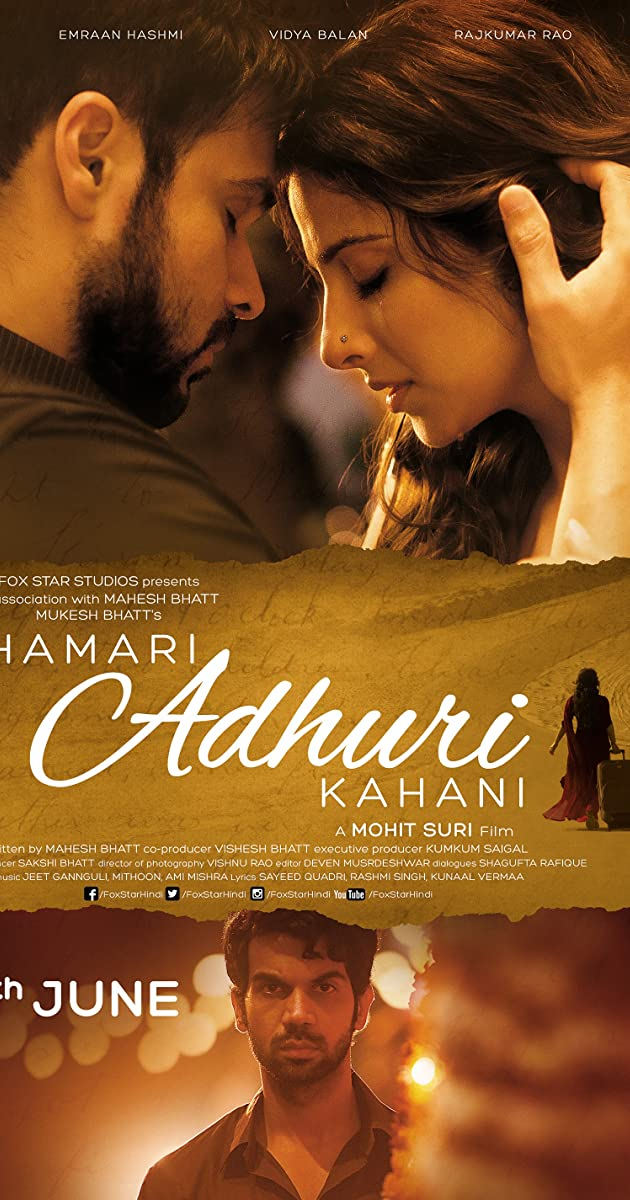 hamari adhuri kahani song hd 1080p