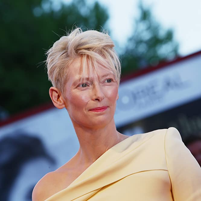 Tilda Swinton at an event for A Bigger Splash (2015)