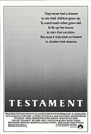 Testament(1983) Poster - Movie Forum, Cast, Reviews