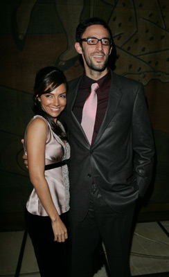 Vanessa Marcil and Ben Younger at an event for Prime (2005)