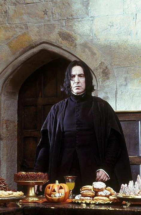 Alan Rickman stars as Professor Snape