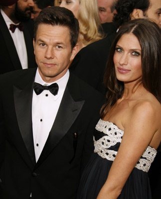 Mark Wahlberg and Rhea Durham at The 79th Annual Academy Awards (2007)