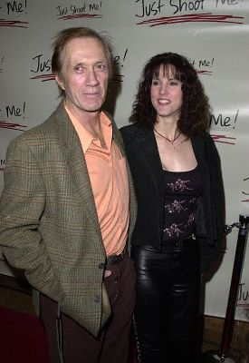 David Carradine at an event for Just Shoot Me! (1997)