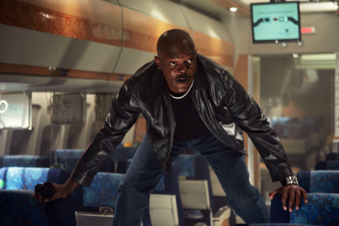Samuel L. Jackson in Snakes on a Plane (2006)