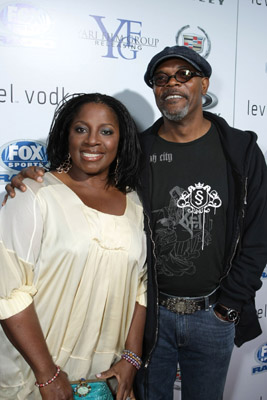 Samuel L. Jackson at an event for Resurrecting the Champ (2007)