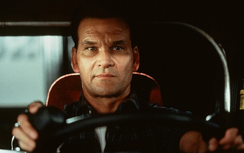 Patrick Swayze stars as Jack Crews, an ex-con who is duped into driving a sm i-truck loaded with illegal weapons.