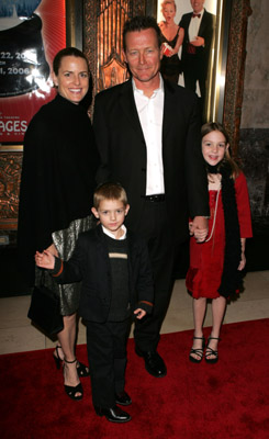 Robert Patrick and family