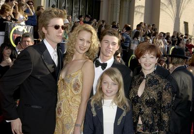 Alison Eastwood, Frances Fisher, Francesca Eastwood, Kyle Eastwood, and Scott Eastwood