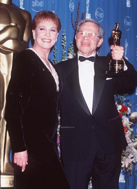 Julie Andrews and Michael Kidd at The 69th Annual Academy Awards (1997)