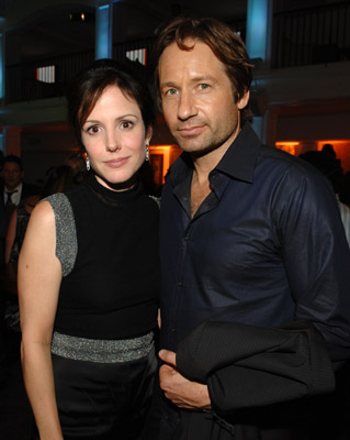 David Duchovny and Mary-Louise Parker at Weeds (2005)