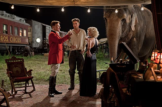 Reese Witherspoon, Christoph Waltz, and Robert Pattinson in Water for Elephants (2011)