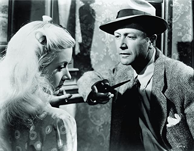 Robert Young and Gloria Grahame in Crossfire (1947)