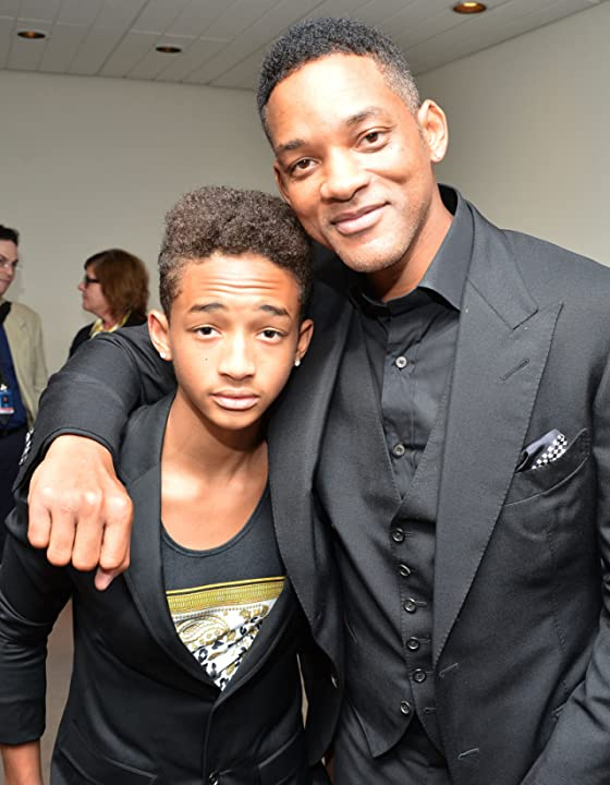Will Smith and Jaden Smith at Free Angela and All Political Prisoners (2012)