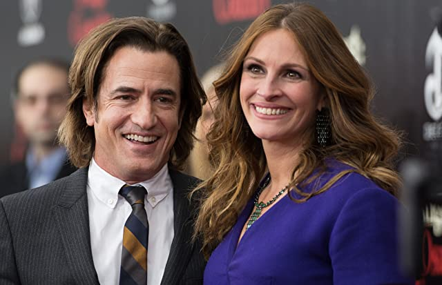 Julia Roberts and Dermot Mulroney at an event for August: Osage County (2013)